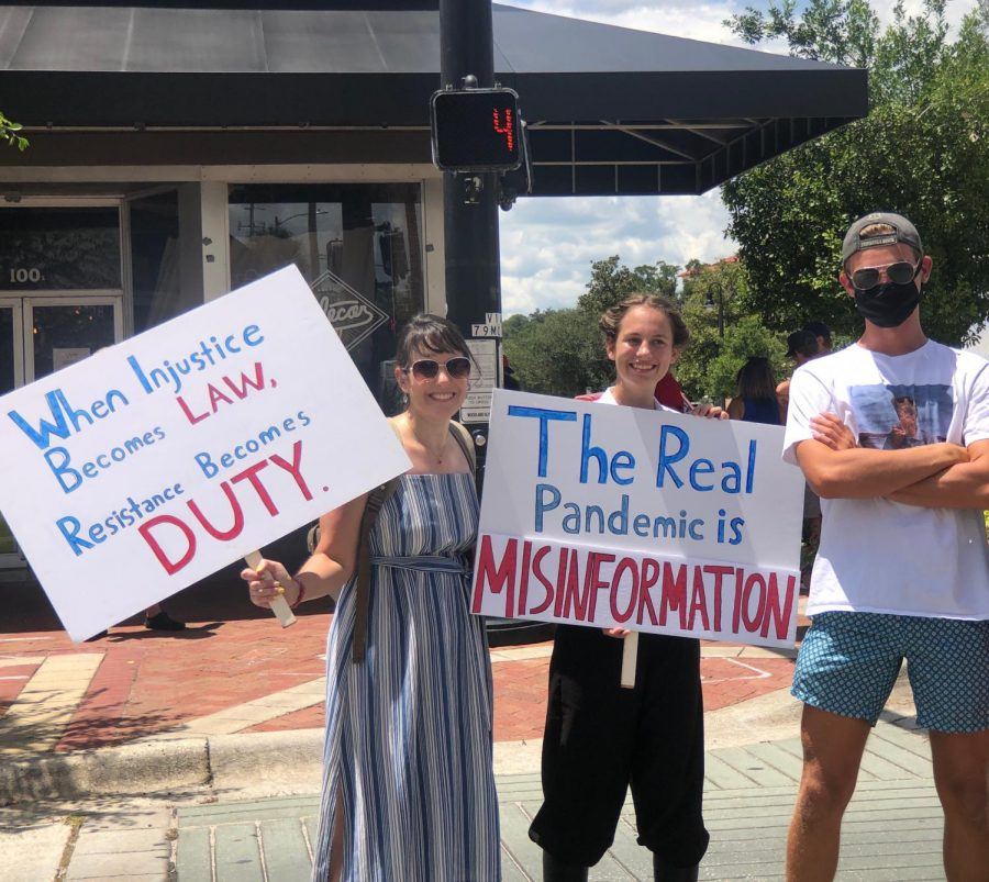True Patriots Wear a Mask