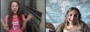 Two Girls Talking About What You Are Probably Thinking