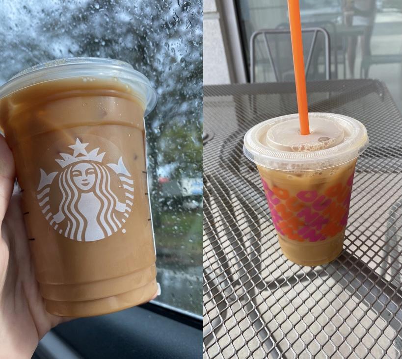 Starbucks vs Dunkin