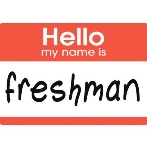 How to spot a freshman.